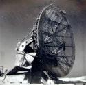 Damaged German Würzburg Radar in Normandy :: Photo by Eric Aldwinckle (collection of Margaret Bridgman)